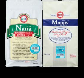 モッピー&ナナは良質なフードを提供いたします