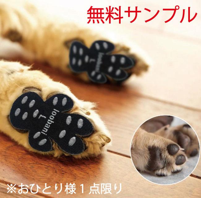 【サンプル】LOOBANI Dog Paw Pad Grips 犬用肉球パッド Black【0円】