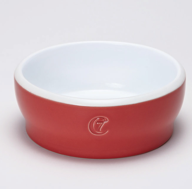 Dog Bowl Jamie Red
