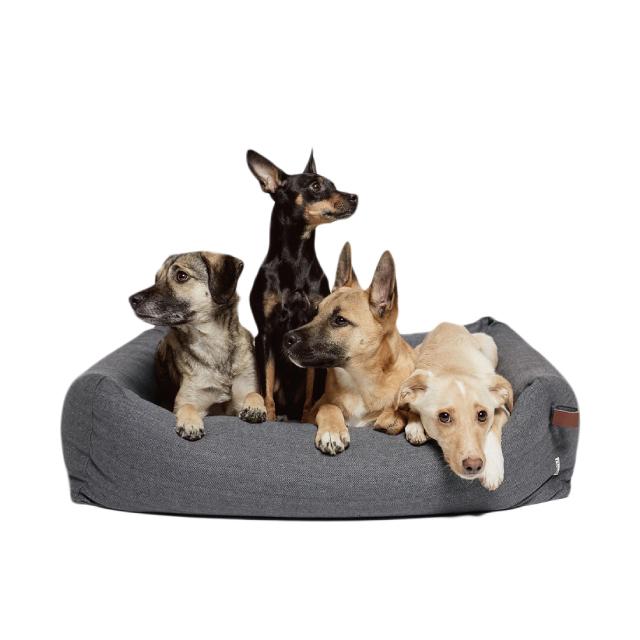 Dog Bed Sleepy Deluxe Tweed Taupe(Lサイズ・XLサイズ)