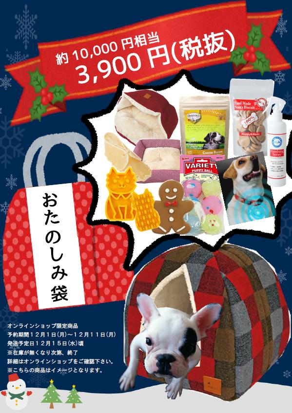 【売り切れ】おたのしみ袋B(おもちゃ袋)