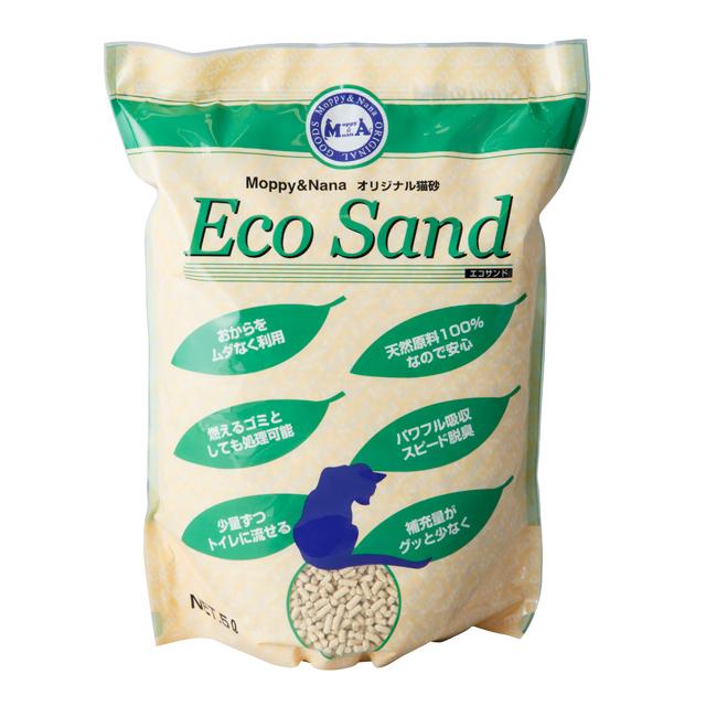猫砂 エコサンド 5L