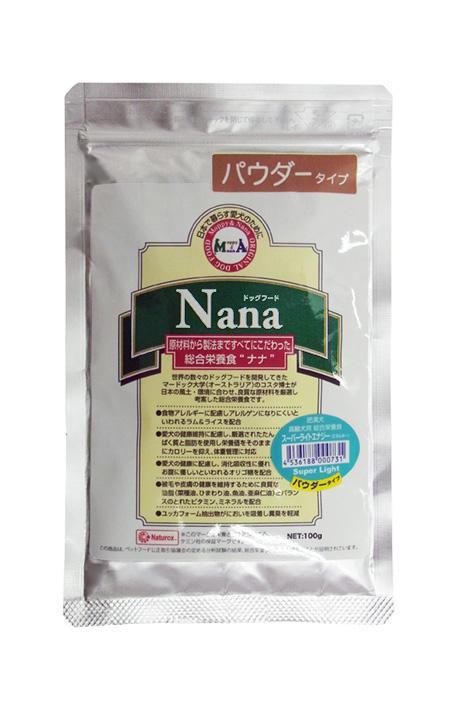 【新発売】ナナ スーパーライトエナジー パウダータイプ100g